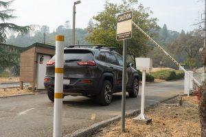 BA-440 DualBeam Barcode Reader identifies vehicles at Auburn Lake Trail in northern California