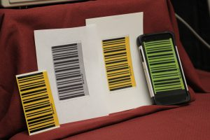 Photocopies and Digital Image of a BAi Barcode Decal