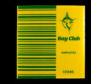 Large size custom BAi barcode decal