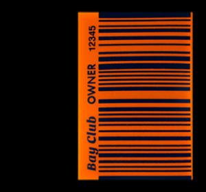 Standard size custom BAi barcode decal