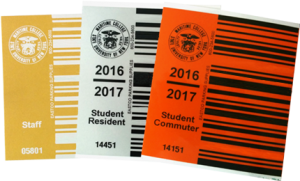 BAi Barcode Decals for SUNY Maritime Academy